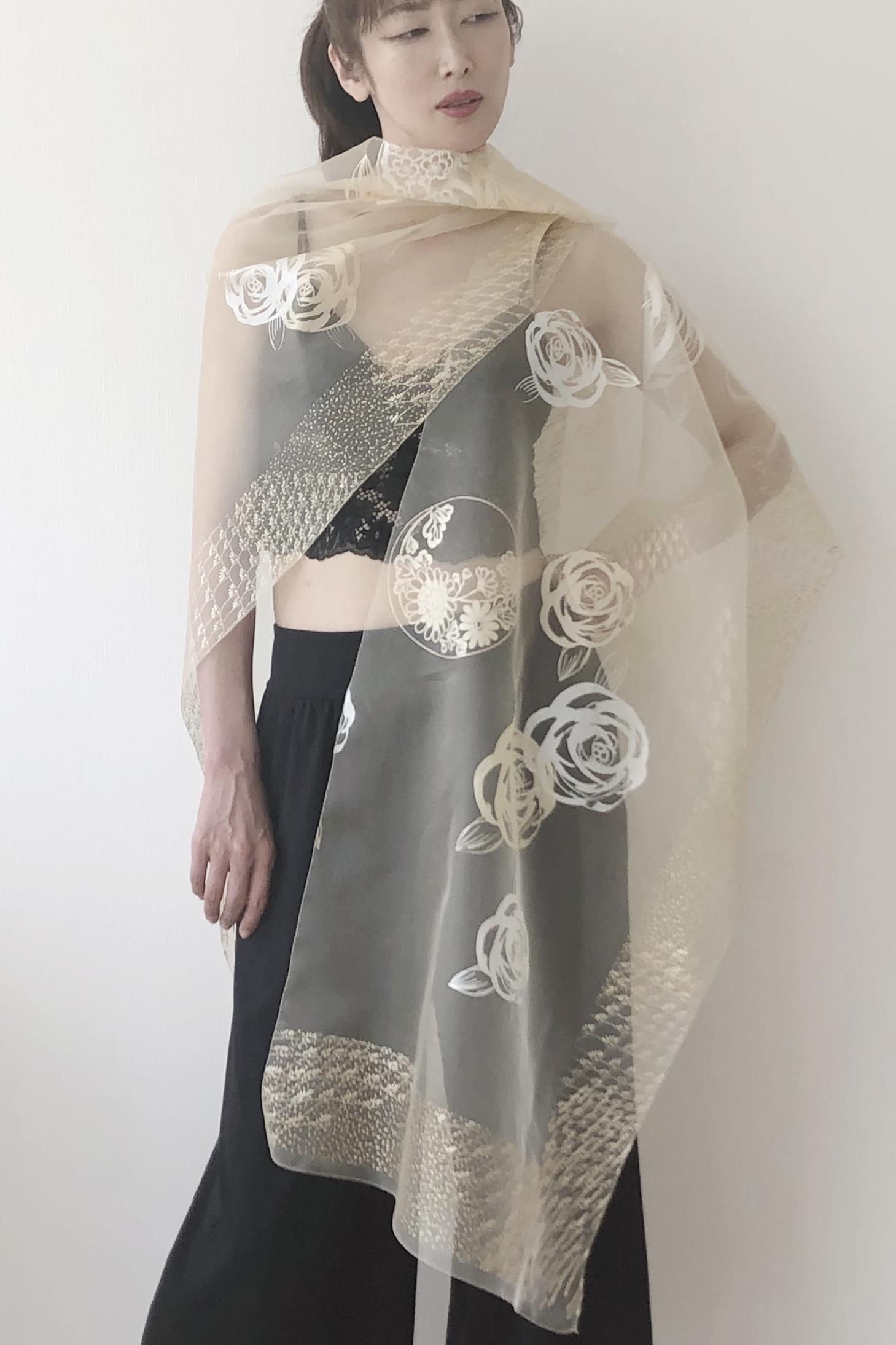 絹羽織|SARAPE_FLOWER