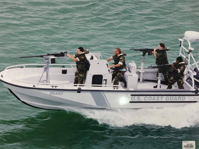 品番0419 ポスター 『U.S. COAST GUARD(米国 沿岸警備隊)』 写真 アート 壁掛 ヴィンテージ