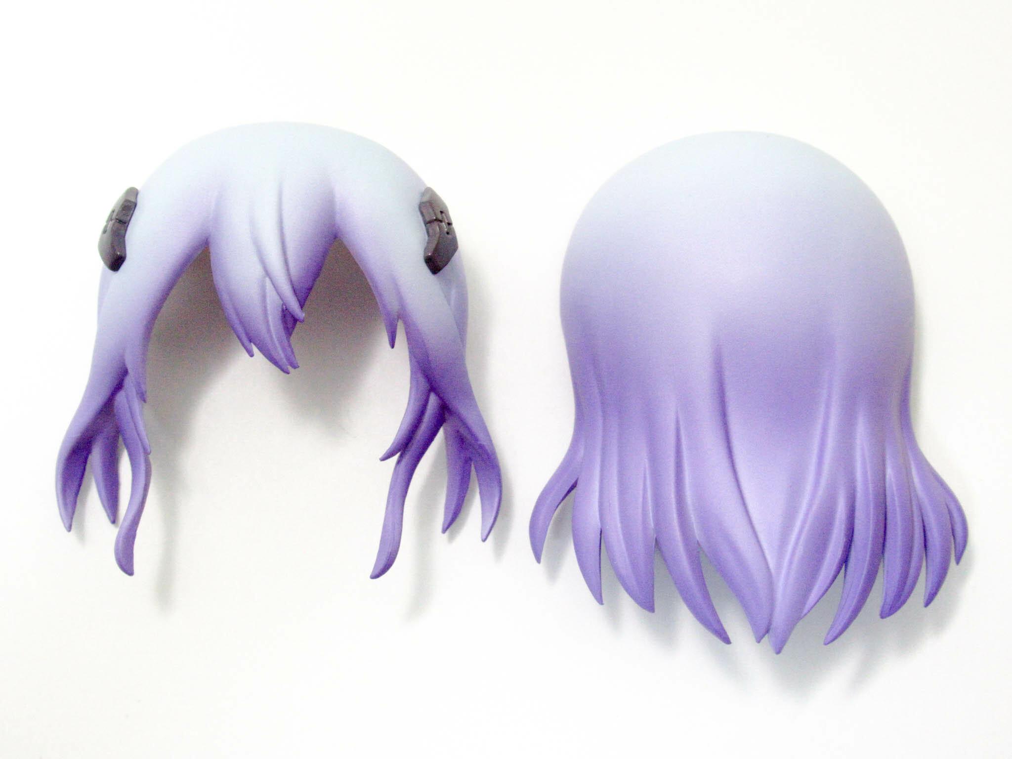 【995】 レイシア 髪パーツ セミロング ねんどろいど