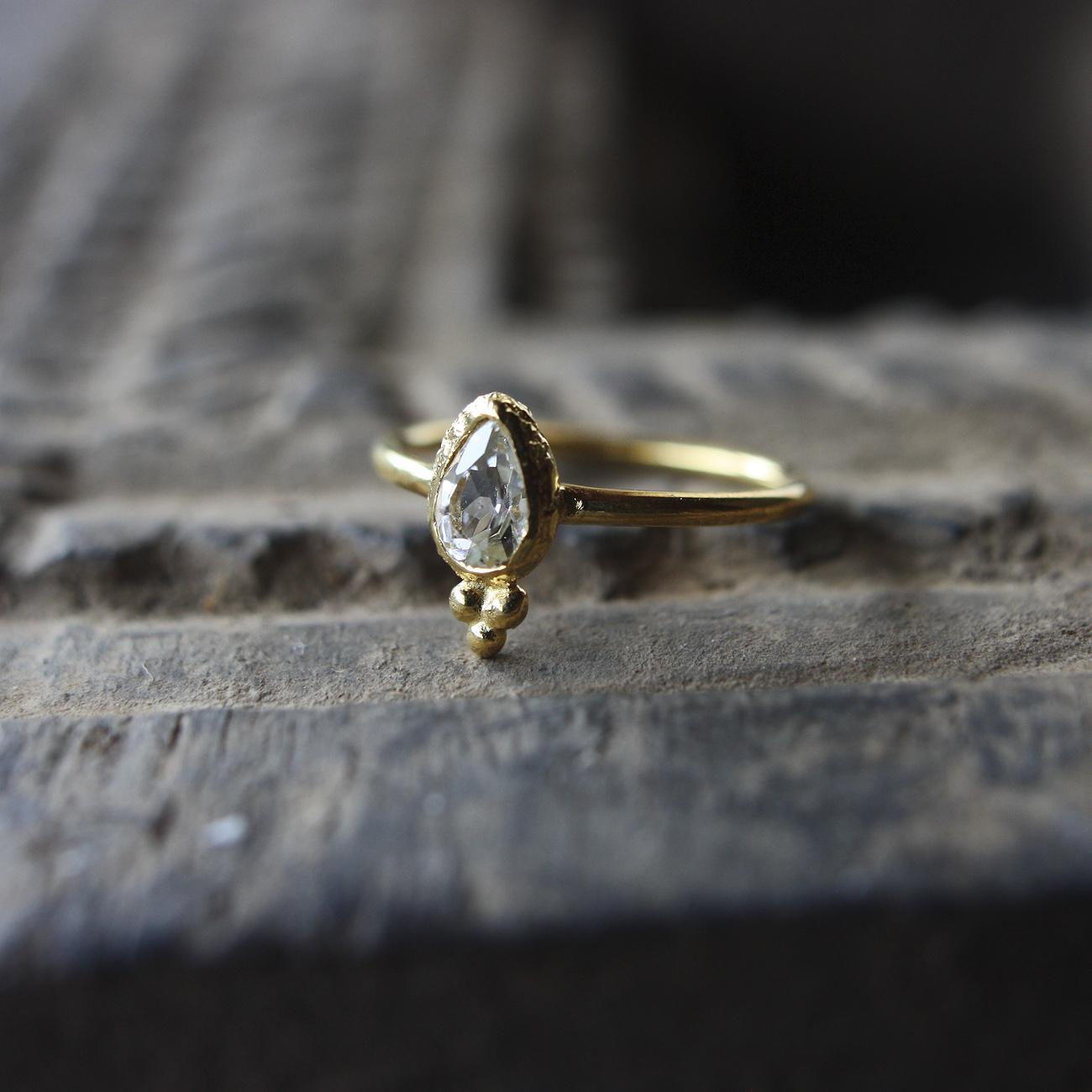 Jaipur gem リング -crystal- #9