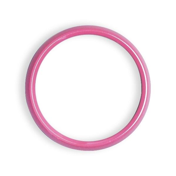 ゴーバッジ グリルバッジホルダー交換用リング(ピンク) - 画像1