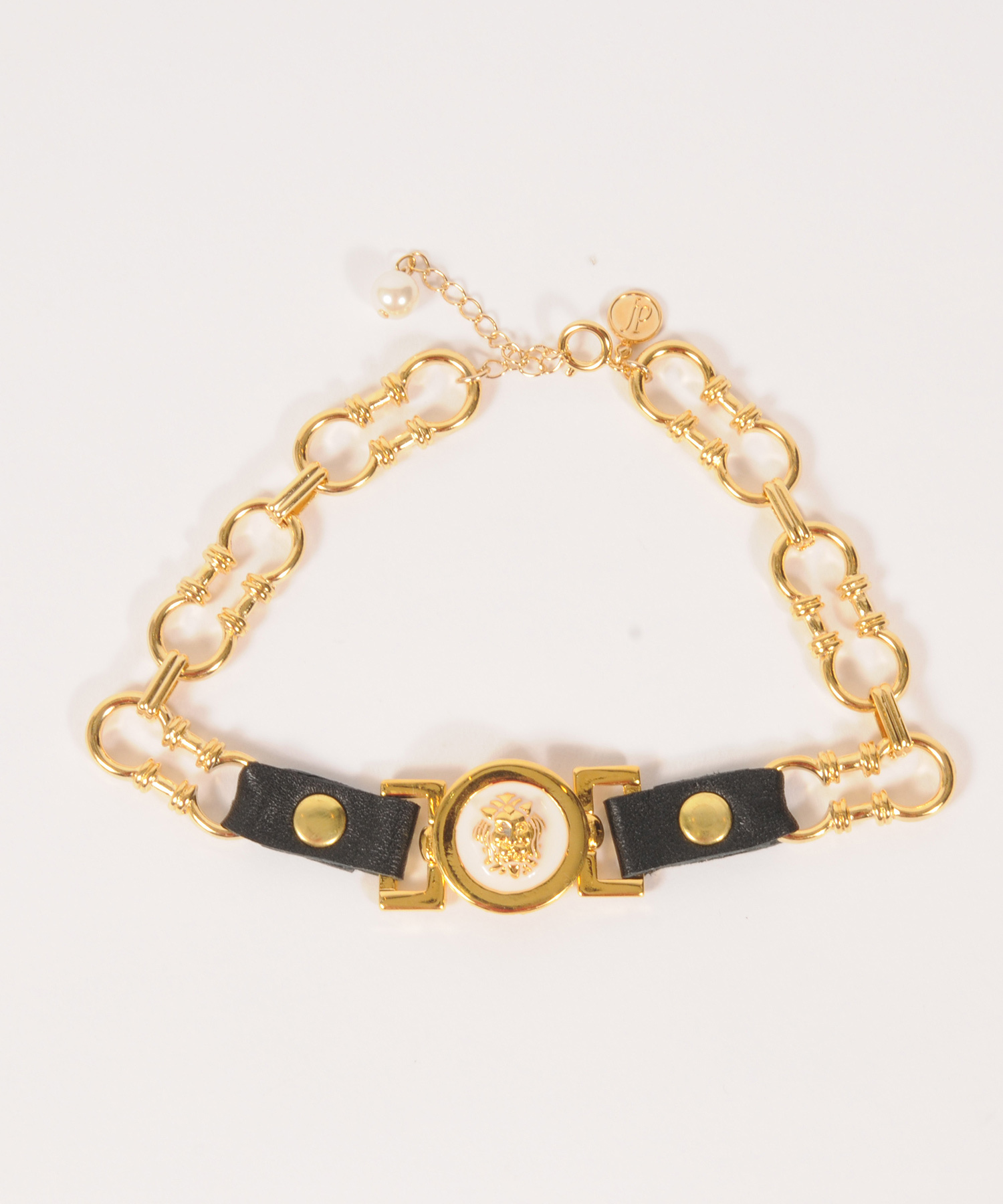 df19AW-J20 TOP MOTIF CHAIN NECKLACE (gold)