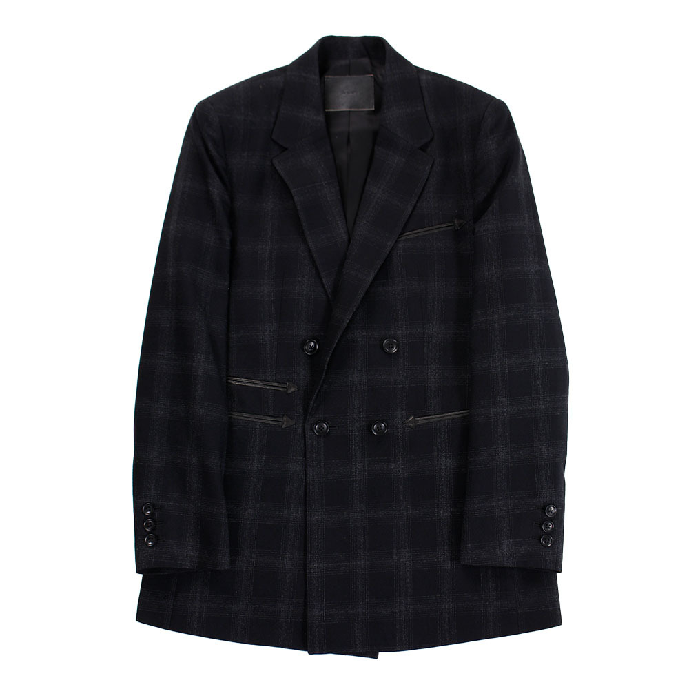 THE LETTERS Plaid Jacket