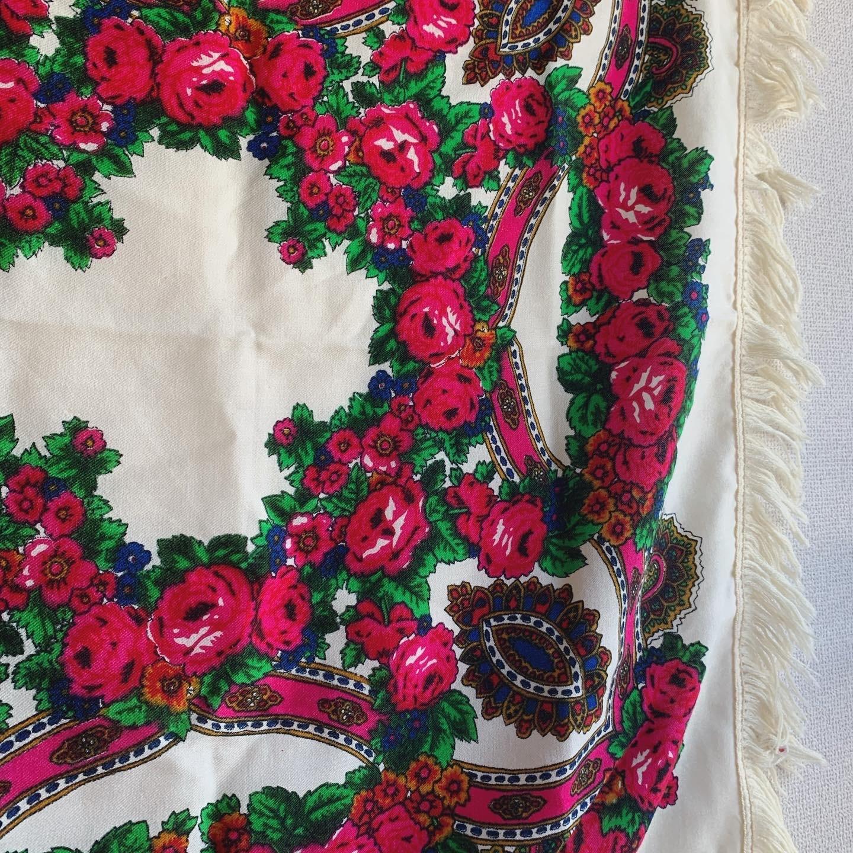 vintage scarf