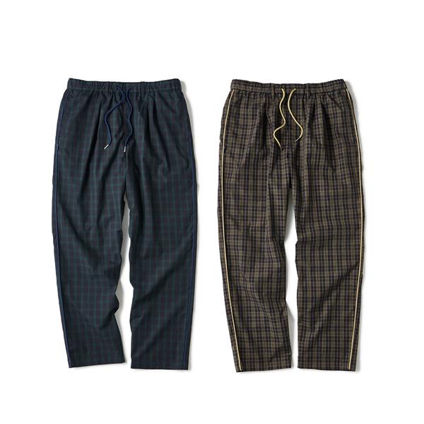 INTERBREED Plaid Summer Pants