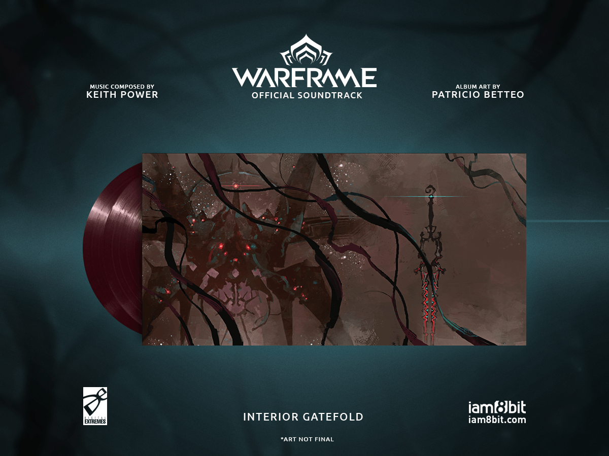 【ウォーフレーム】Warframe Vinyl Soundtrack 2xLP - 画像3