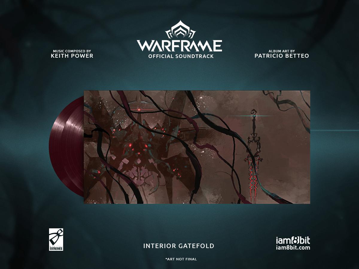 【ウォーフレーム】Warframe Vinyl Soundtrack 2xLP - 画像3