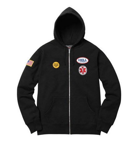 Supreme Hysteric Glamour Zip Up Swweat