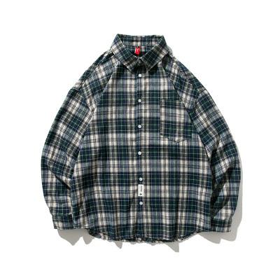 【UNISEX】チェック フランネルシャツ【3colors】
