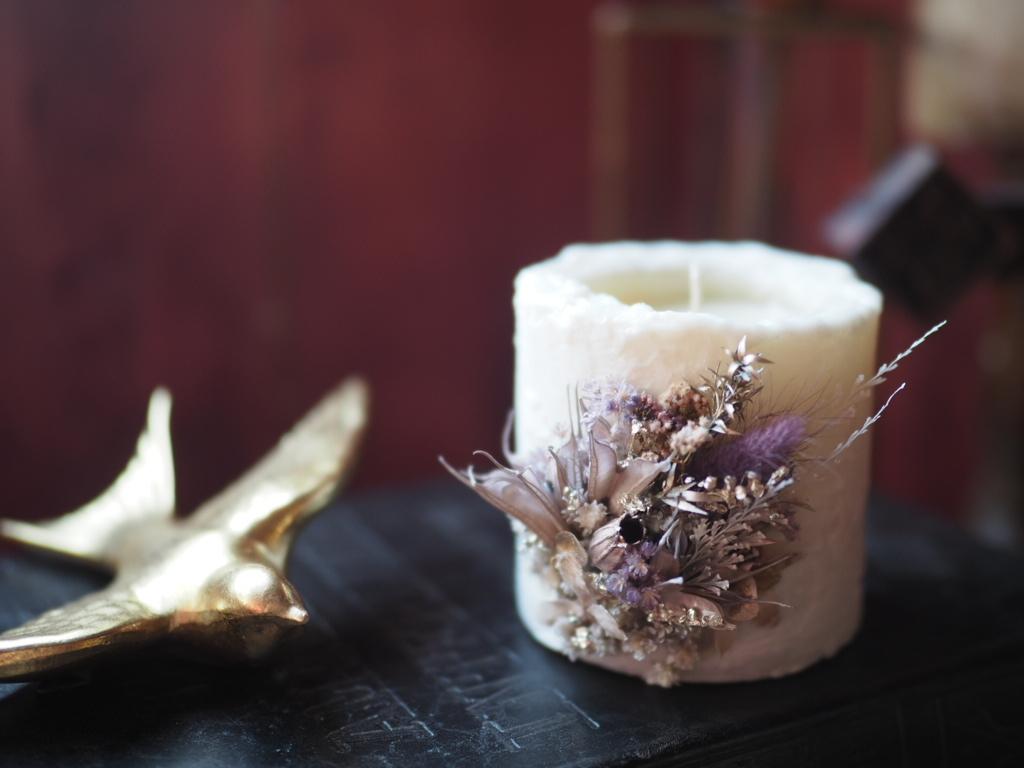 Botanical candle 2