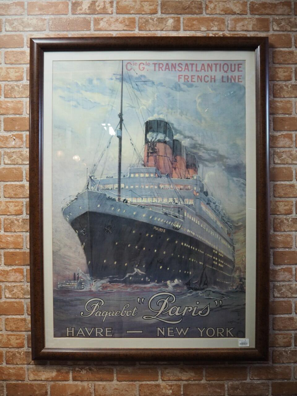 品番4889 ポスター 船 / Poster