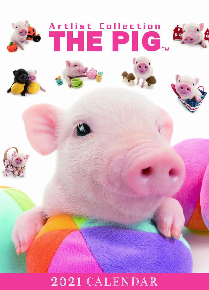 2021年オールスター/Artlist Collection 卓上カレンダー THE PIG(卓上)