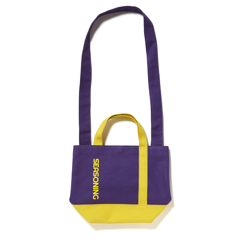MINI TOTE BAG - PURPLE