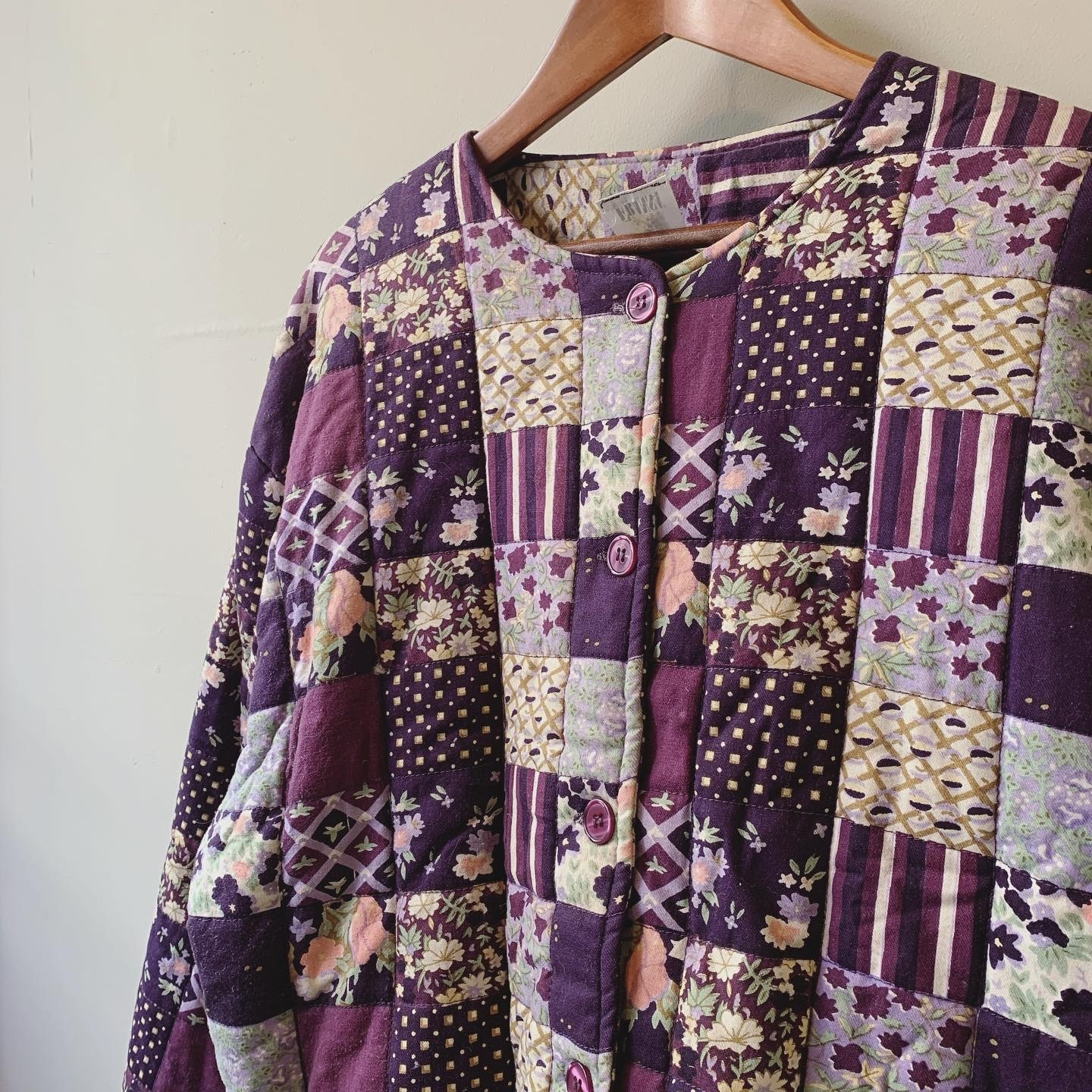 vintage patchwork quilting outer