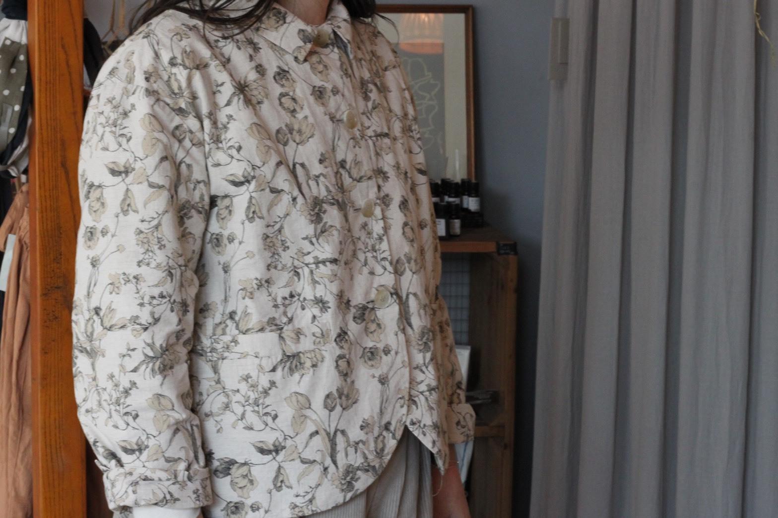 Veritecoeur/フラワープリントジャケット