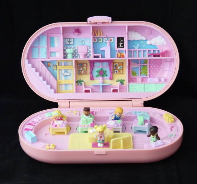 学校のスタンプセット 1992年 ピンク 完品