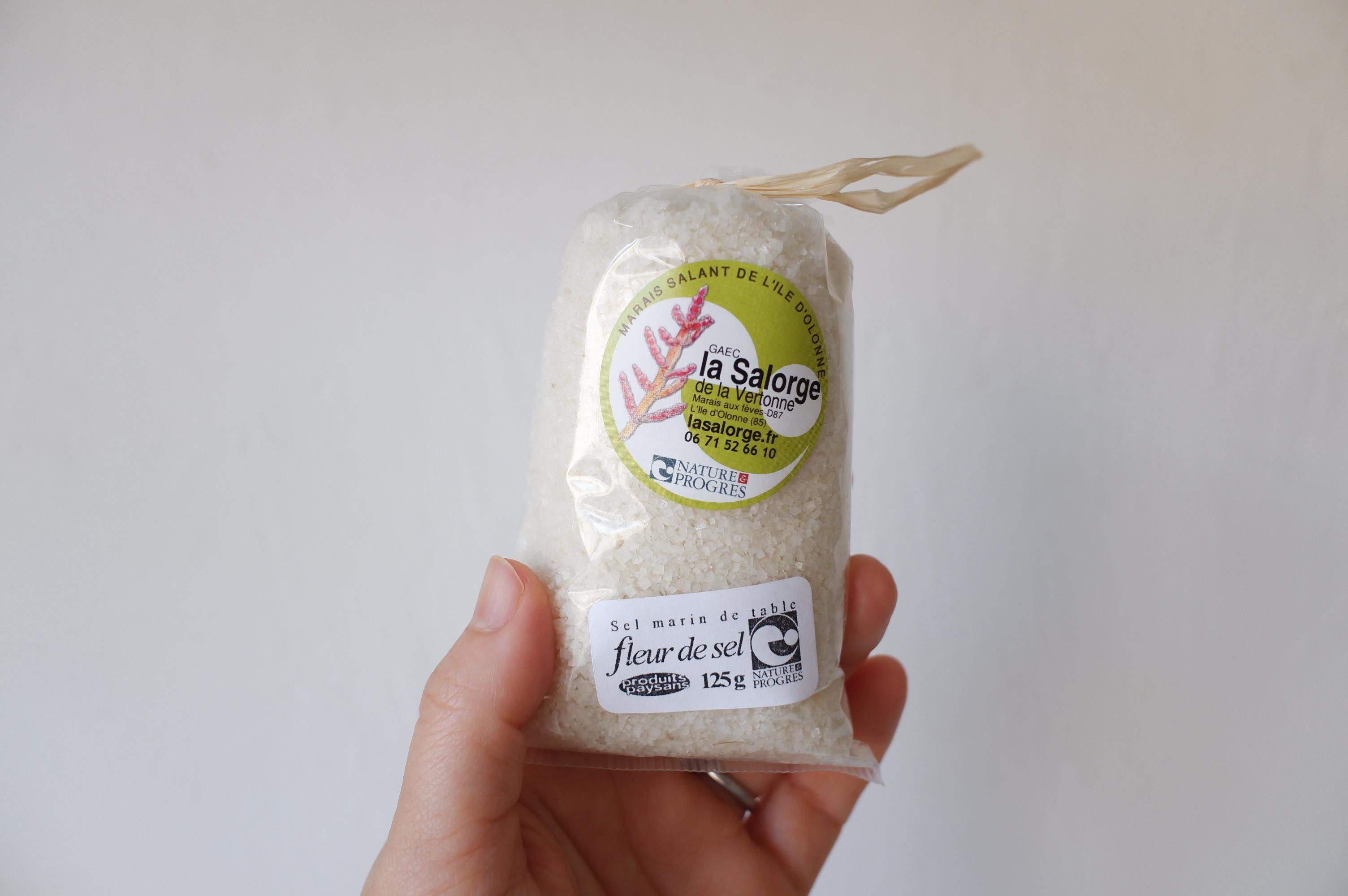 La Salorge de la Vertonne  ヴェルトンヌの塩の花  125g