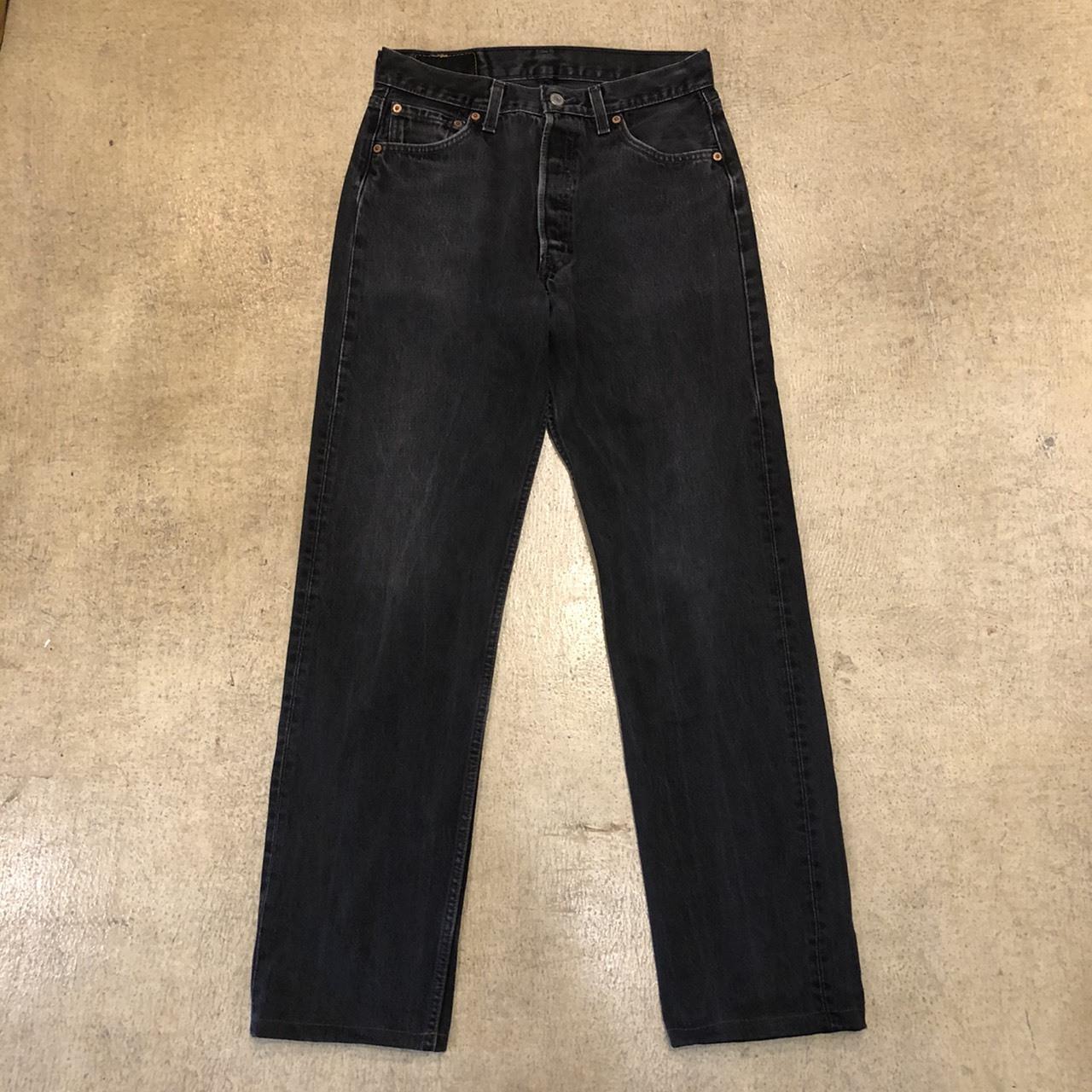 Levi's 501 Black Denim USA  ¥8,000+tax