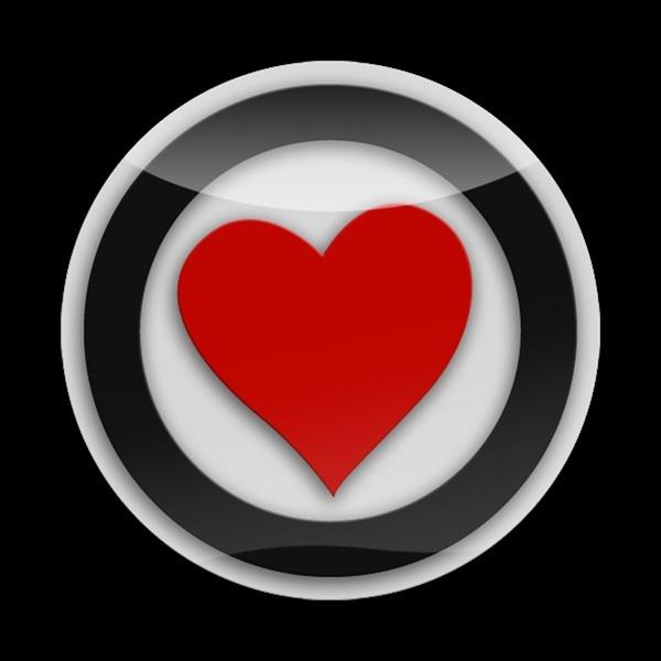 ゴーバッジ(3D)(LC0020 - 3D HEART PREMIUM 01) - 画像1