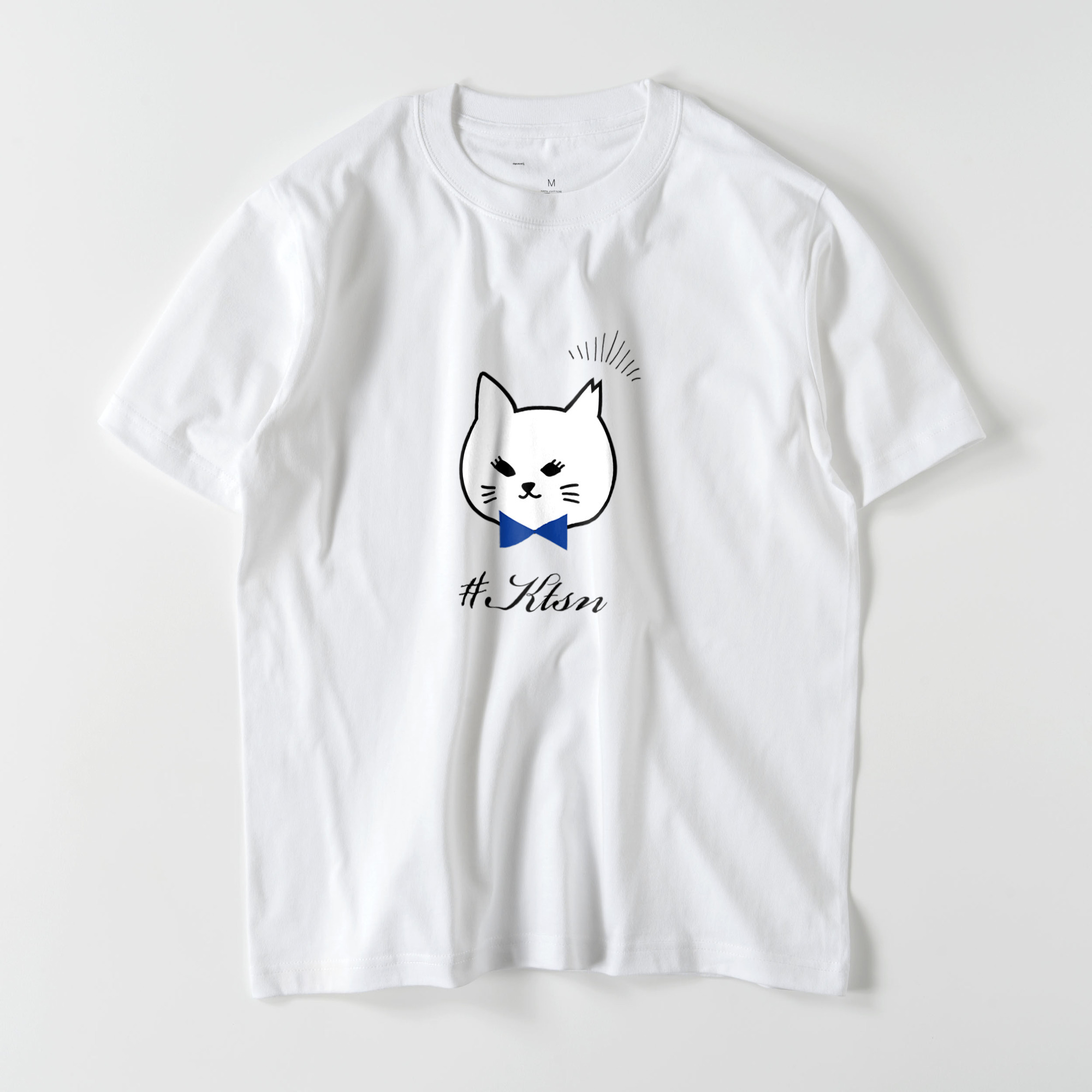 #KTSN×kaco 白猫Tシャツ