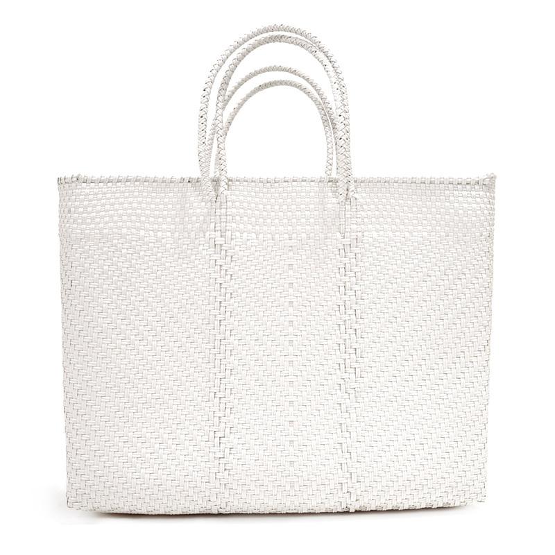 MERCADO BAG ESPIGA - White(L)