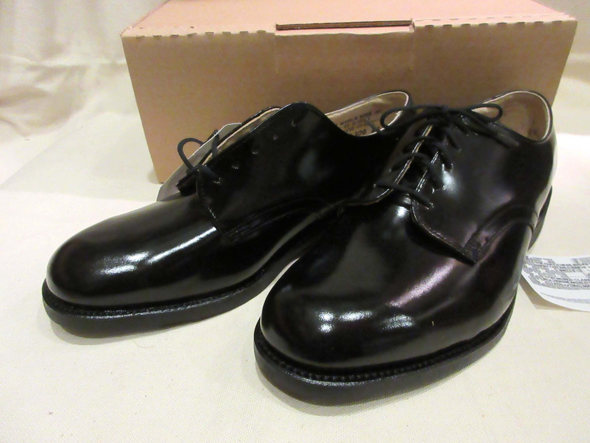 90's US NAVYサービスシューズ WOLVERINE WORLD WIDE INC*MENS OXFORD*7XW*幅広 アメリカ製 Dead Stock
