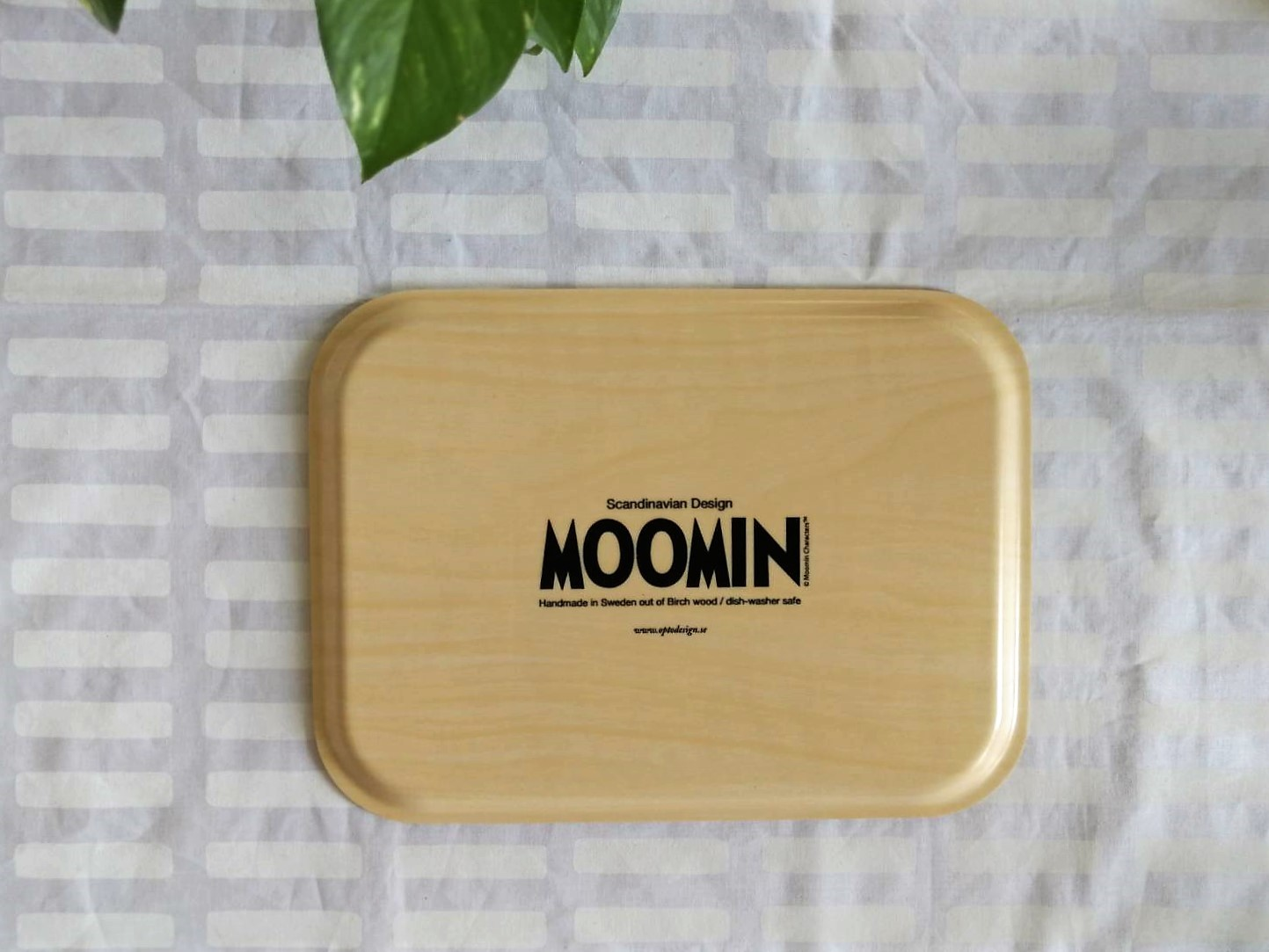 トレー / ムーミン /白樺合板 / キャラクター (CRM)