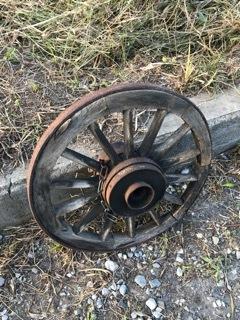 レトロ ジャンク車輪