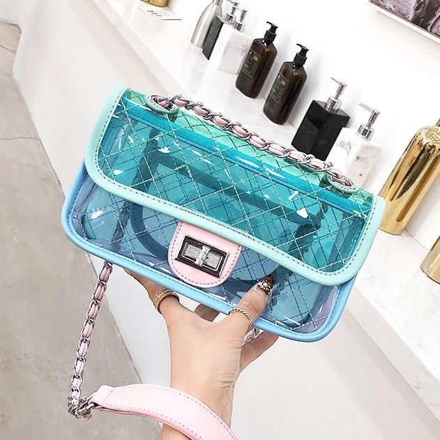 クリア キルティング bag 【2色展開】