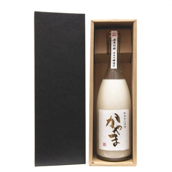 純米発泡濁酒かやま(箱入)1本