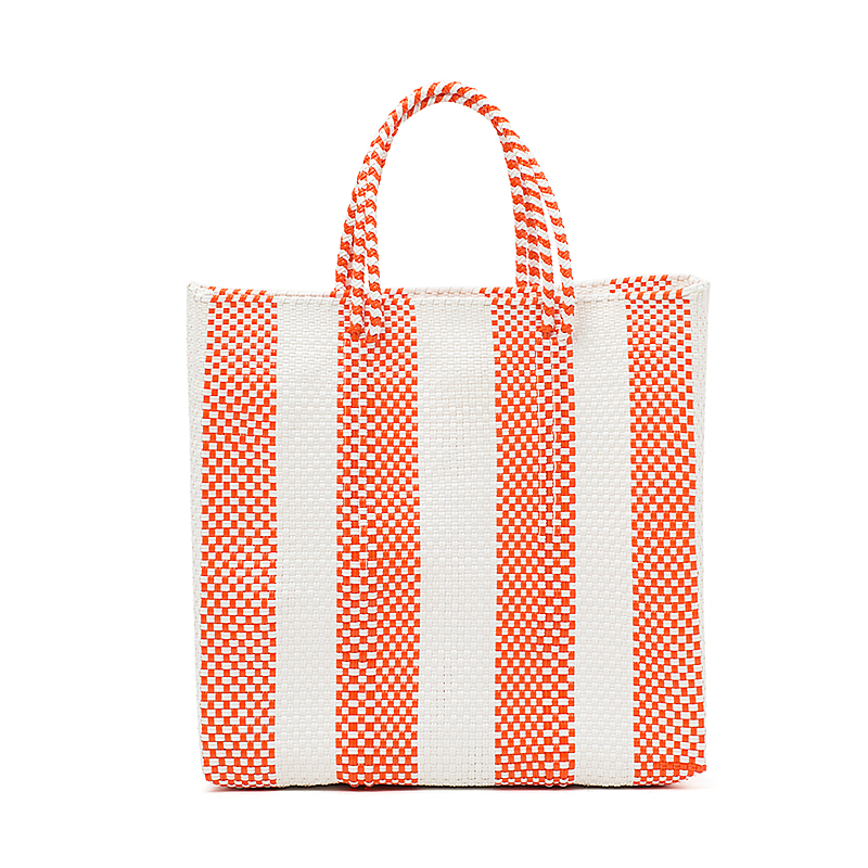 MERCADO BAG 4LINES-Orange (M)
