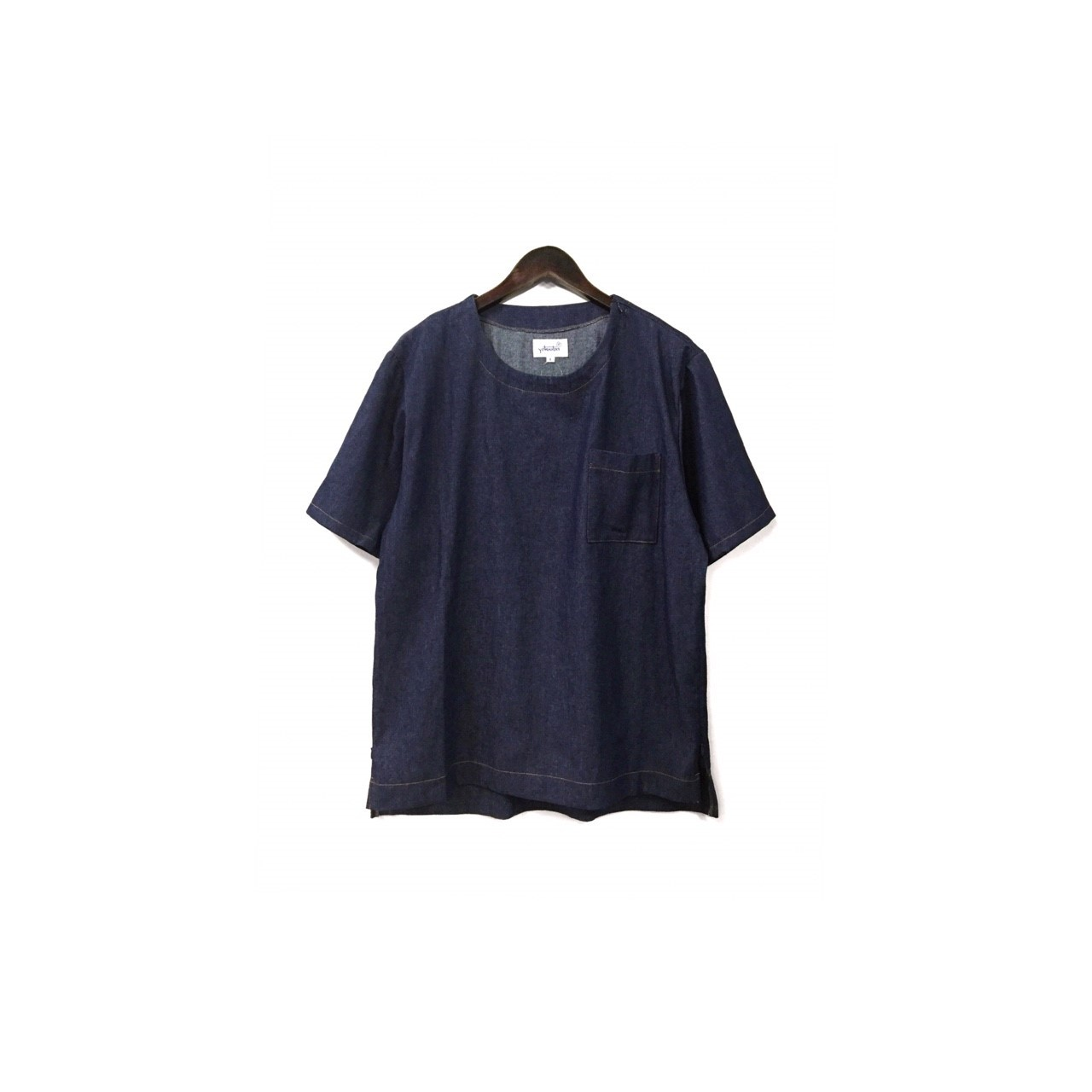 yotsuba - Shortsleeve Denim Tops / Indigo ¥12000+tax