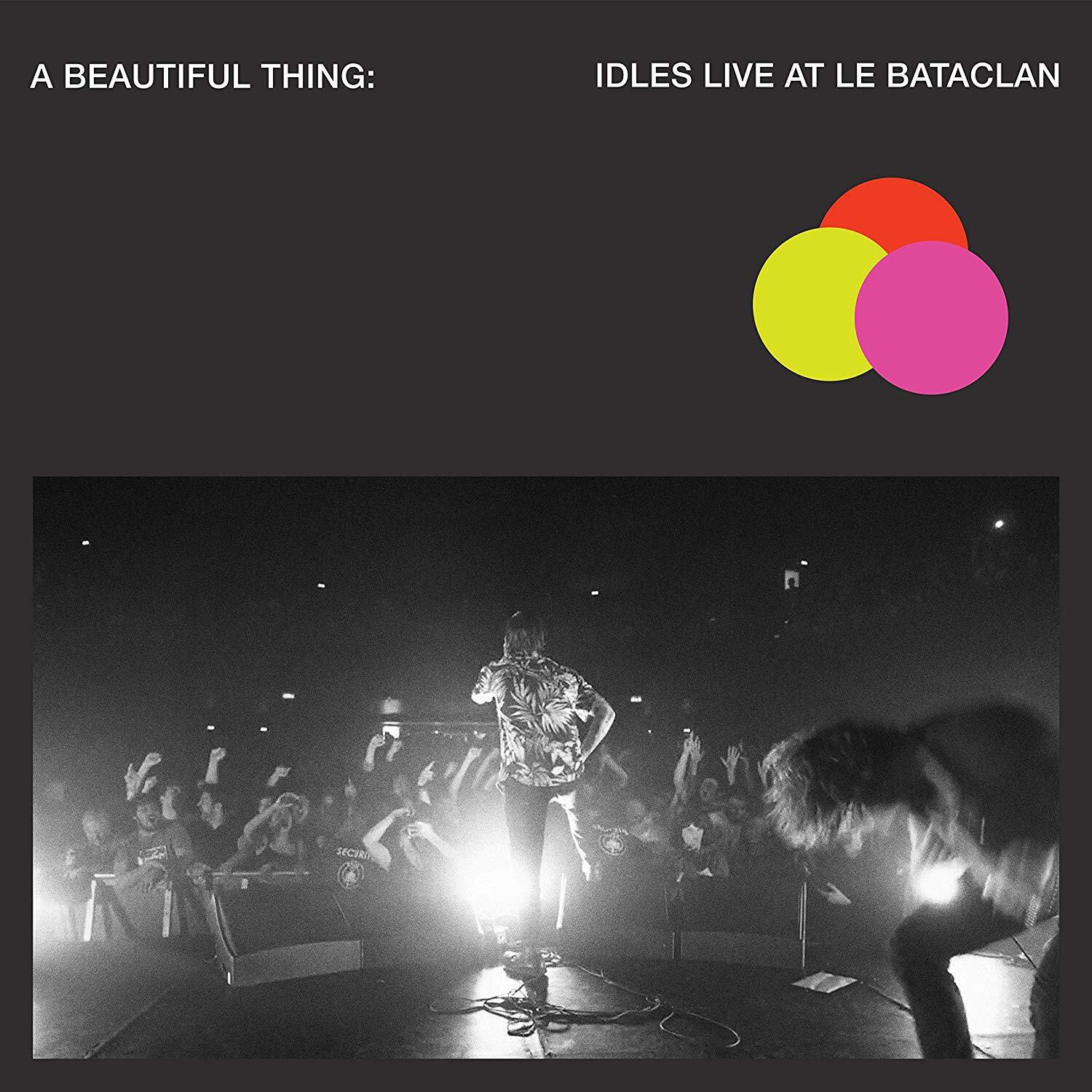 IDLES - A Beautiful Thing: Idles Live at le Bataclan (LTD. Neon Clear Pink Color 2LP)