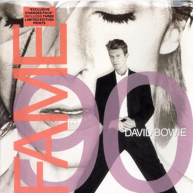【7inch・英盤】David Bowie / Fame 90