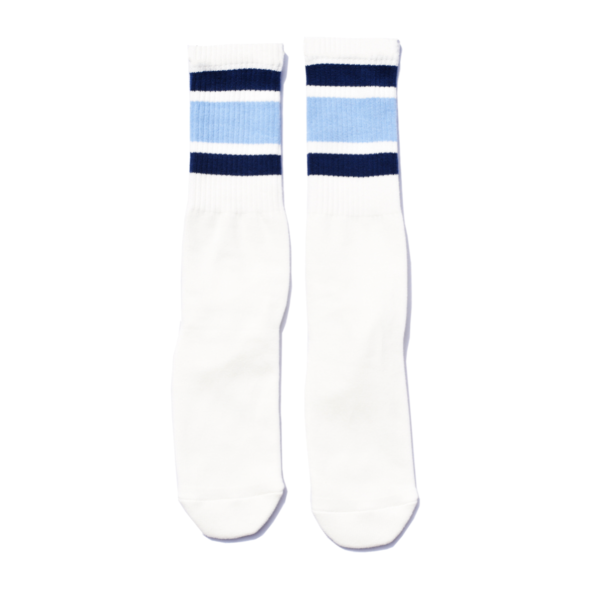 SURF SKATE CAMP #SSC Tube Socks Blue