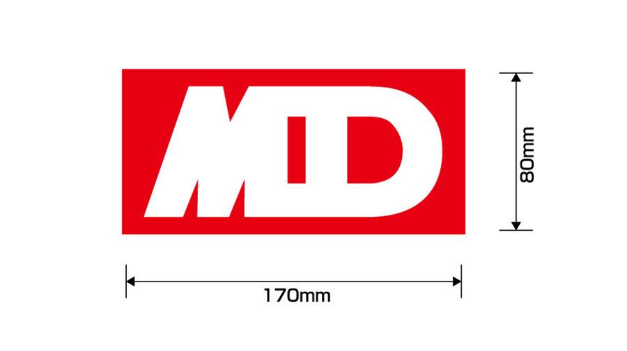 よろしくメカドック MDマグネットステッカー 【小】 / グルーヴガレージ