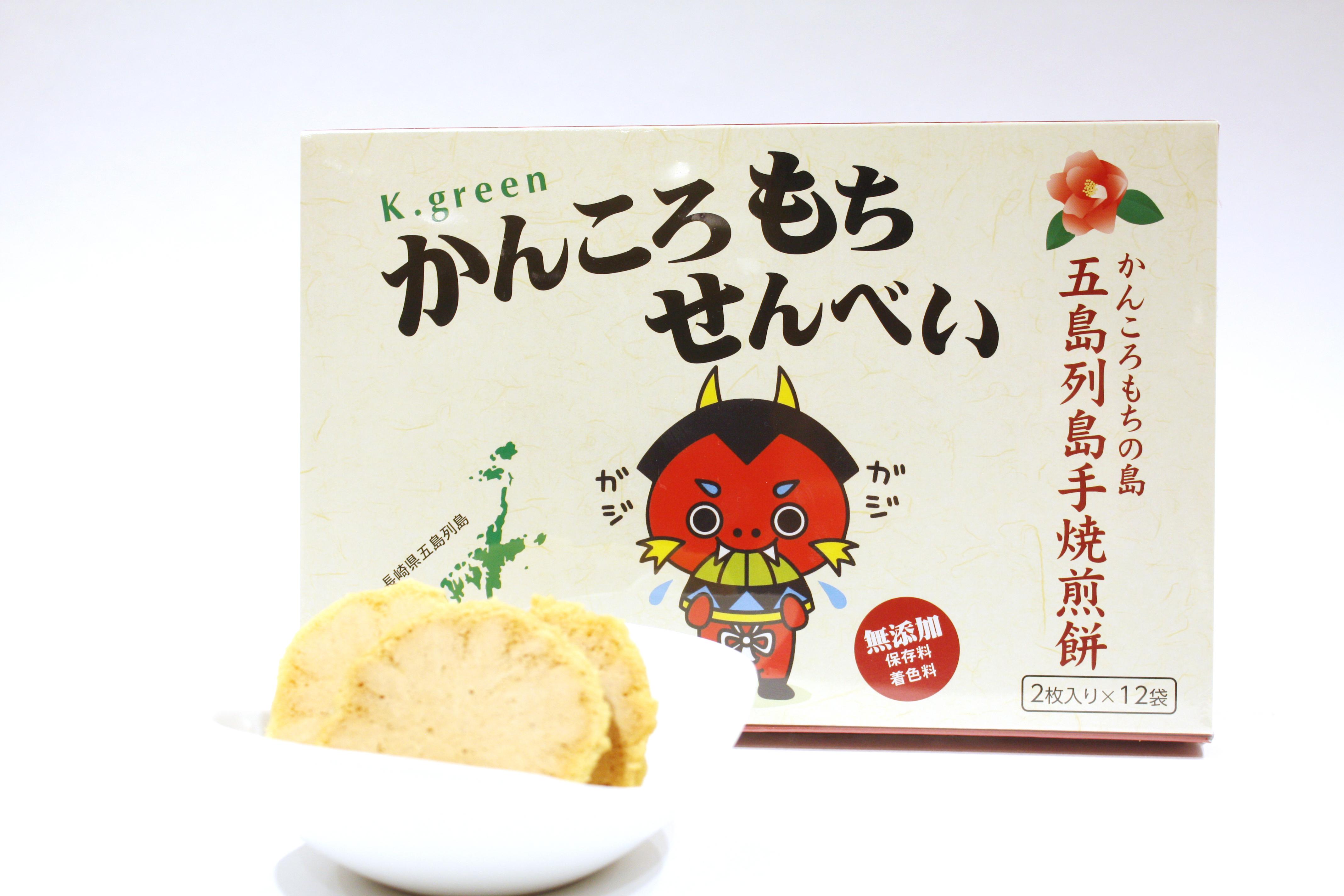 かんころもち煎餅 12枚入 【K.グリーン】