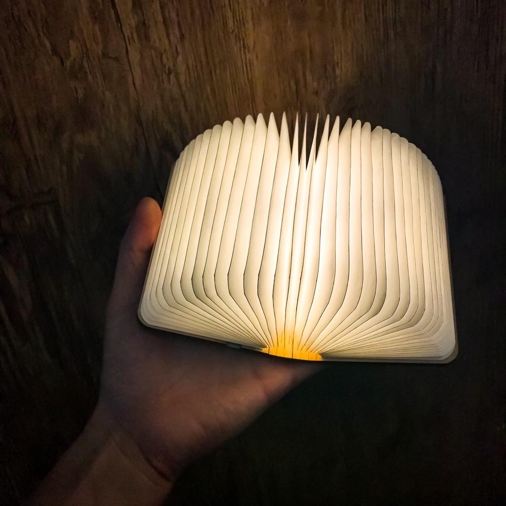 魔法の本 小 ブックライト 本のライト 電球色 LED