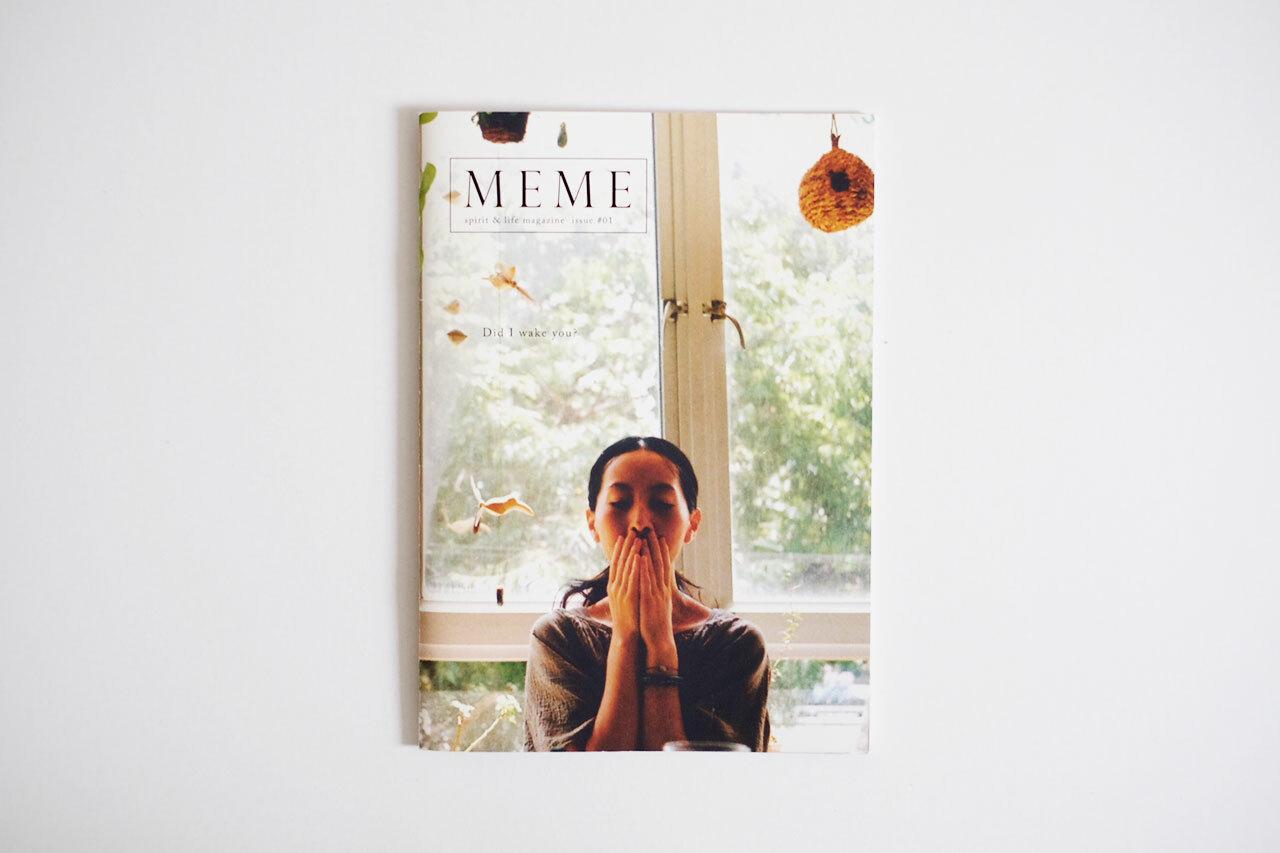 MEME spirit and life magazine issue #01