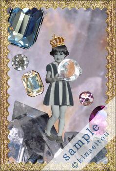 ポストカード - 水晶の山 - 金星灯百貨店