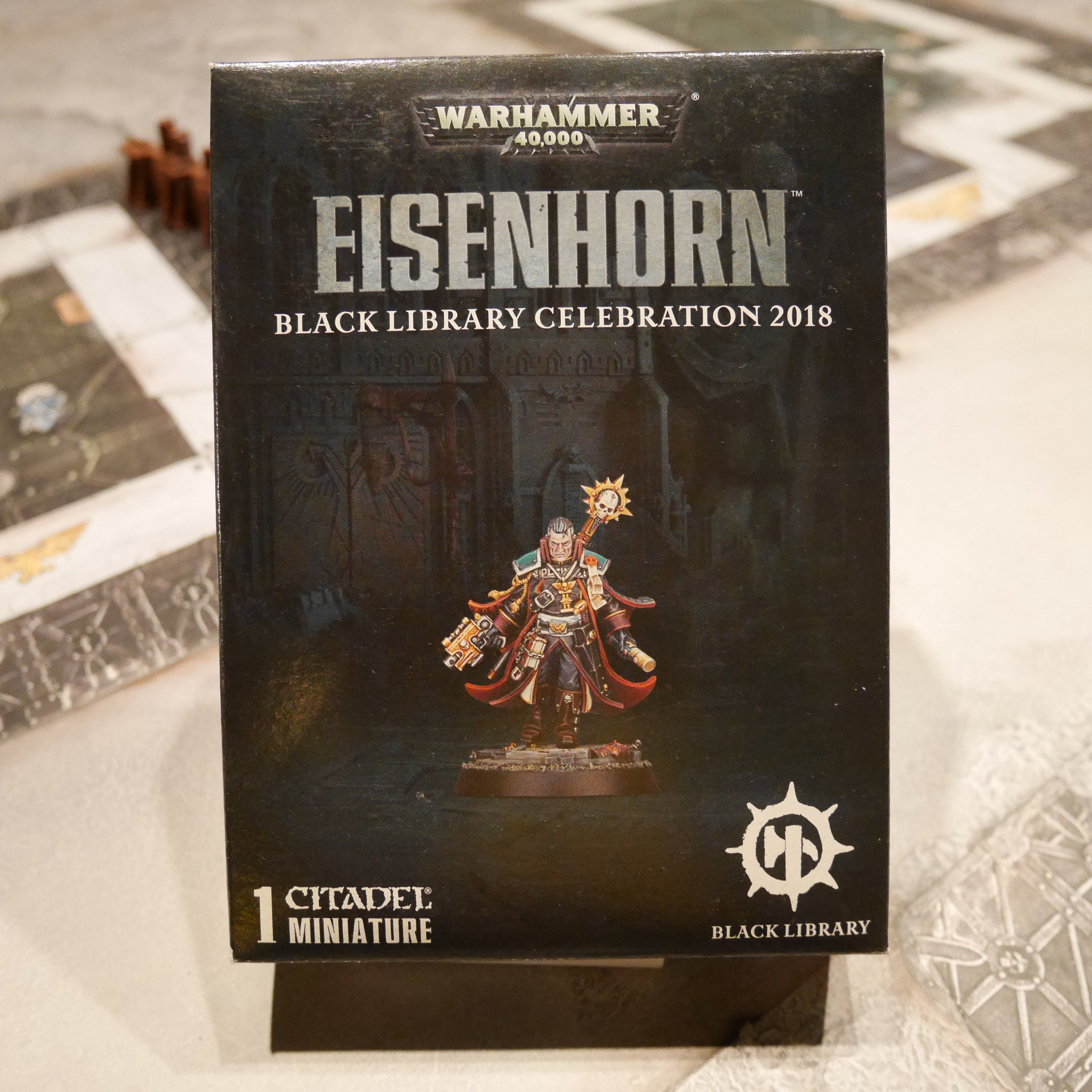 EISENHORN BLACK LIBRARY CELEBRATION 2018