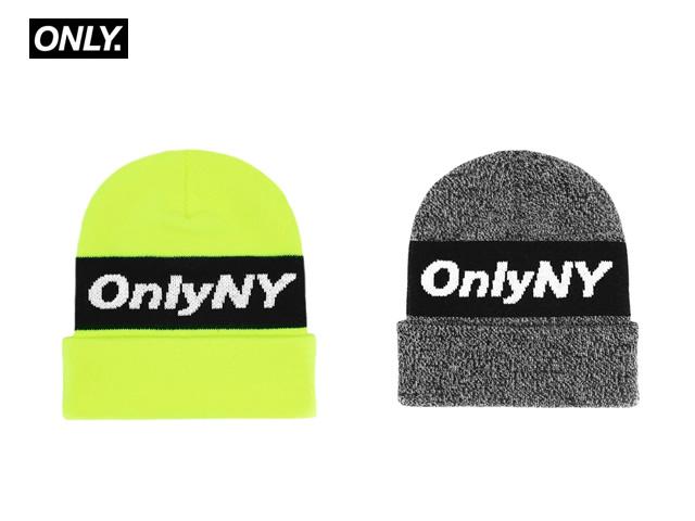 ONLY NY|Knit Logo Beanie