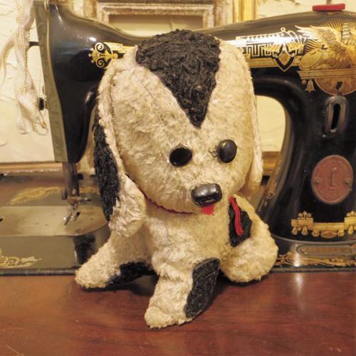たれ耳の犬のぬいぐるみ ヴィンテージ