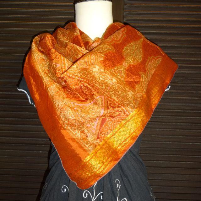 saris011 シルクサリーショール