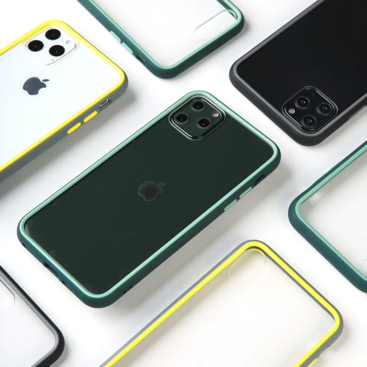 【お取り寄せ商品、送料無料】3カラー シンプル クリア 透明 ハード iPhoneケース iPhone11