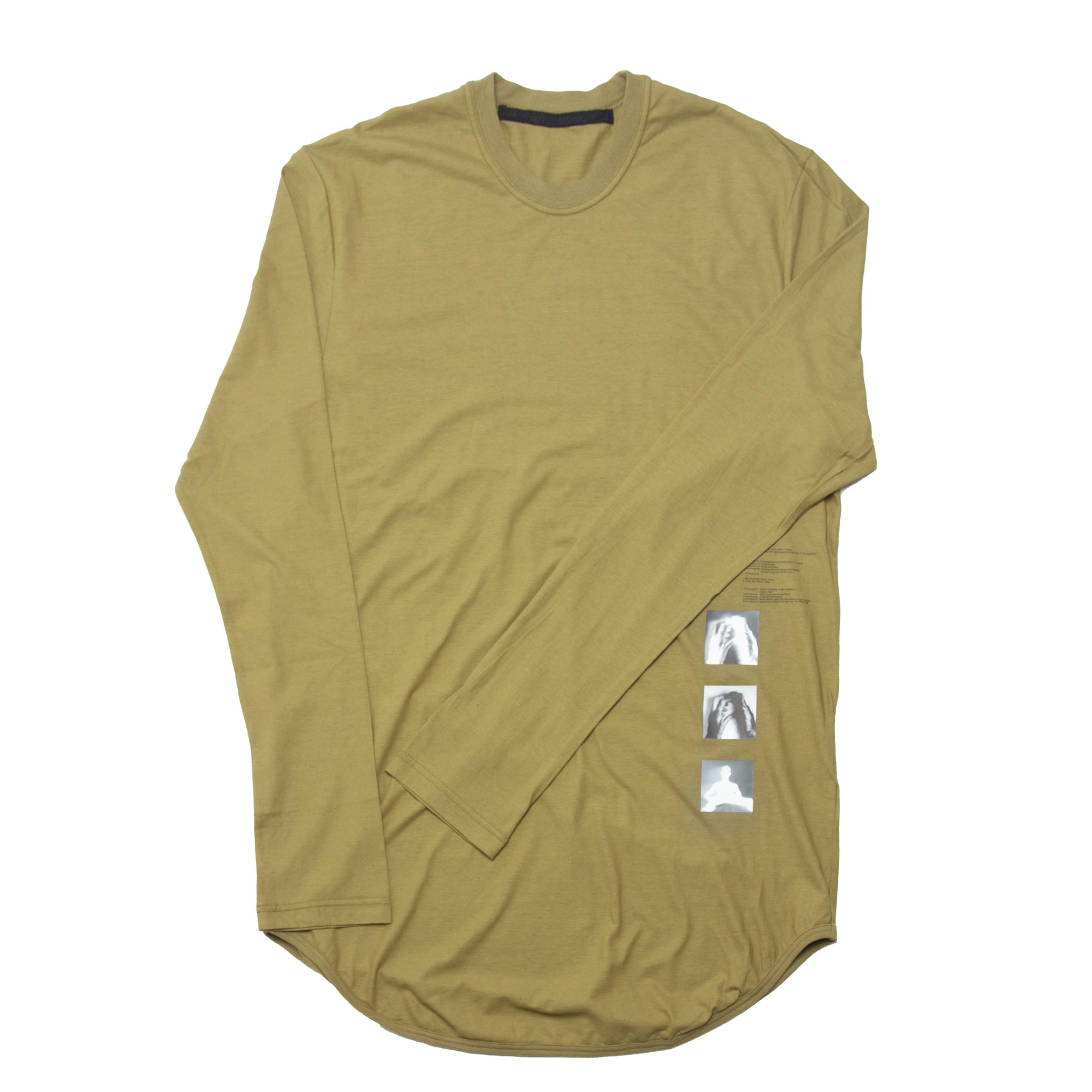 677CPM10-KHAKI / T. A. Z. ロングスリーブラウンド Tシャツ