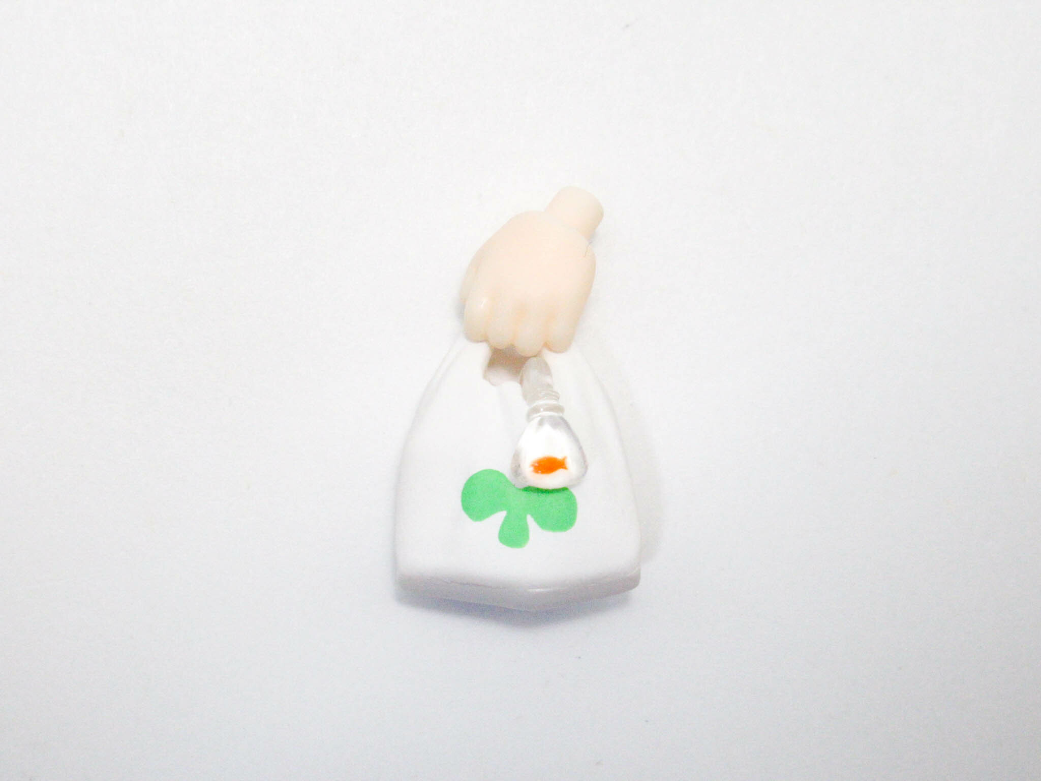 【SALE】【1096】 鳩羽つぐ 小物パーツ 買い物袋 ねんどろいど