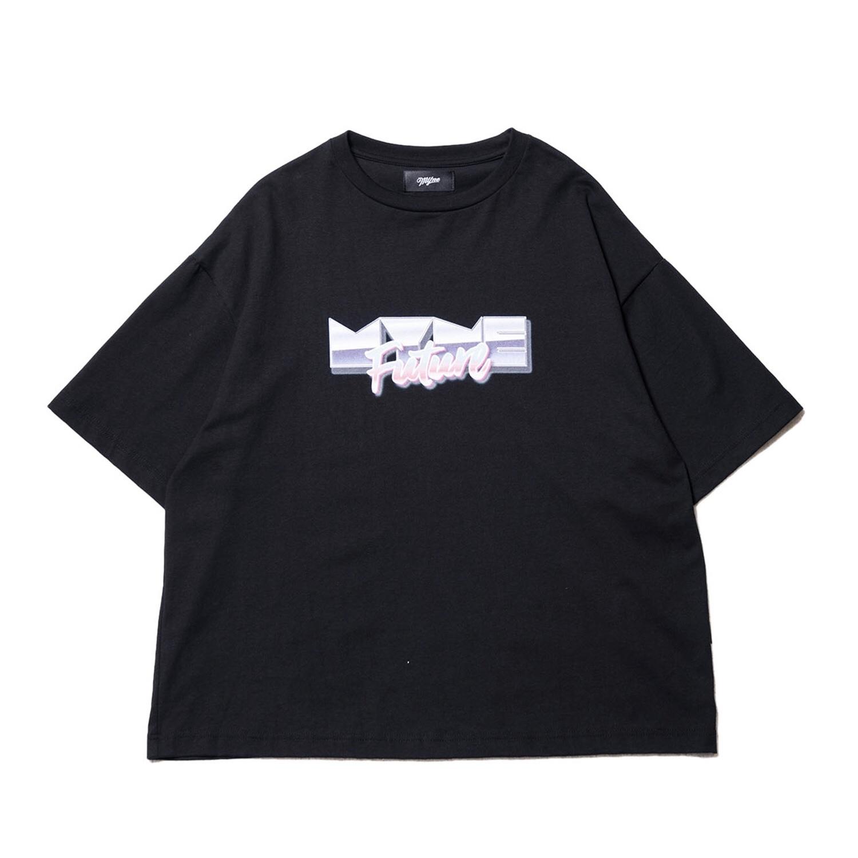 MYne Future T-shirt / BLACK - 画像1