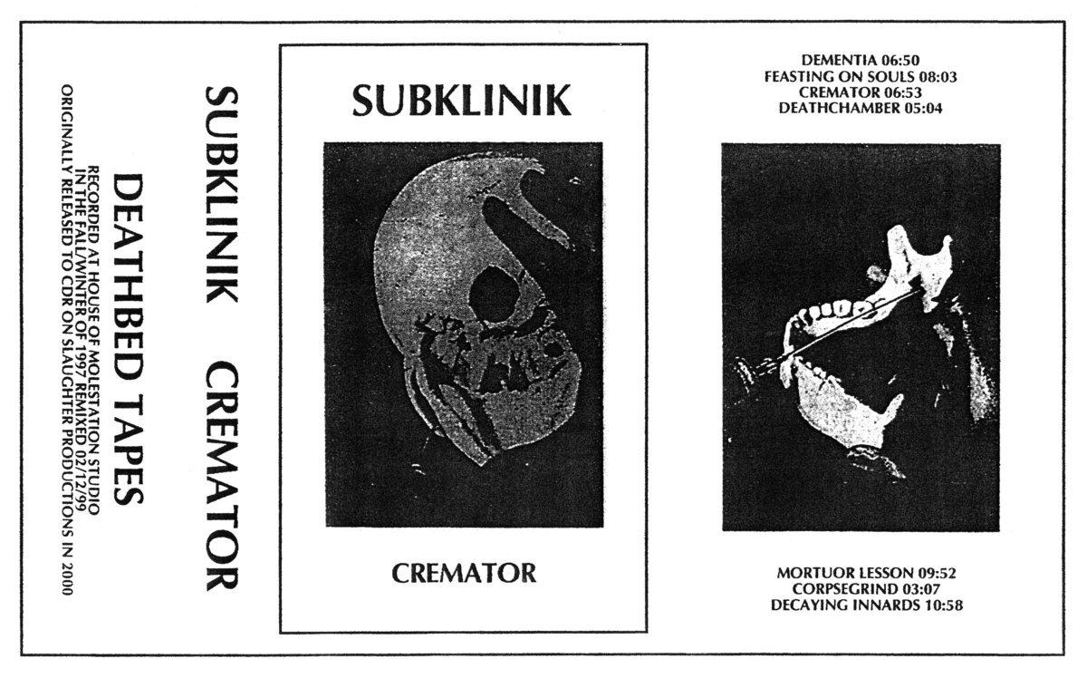 Subklinik - Cremator - 画像2