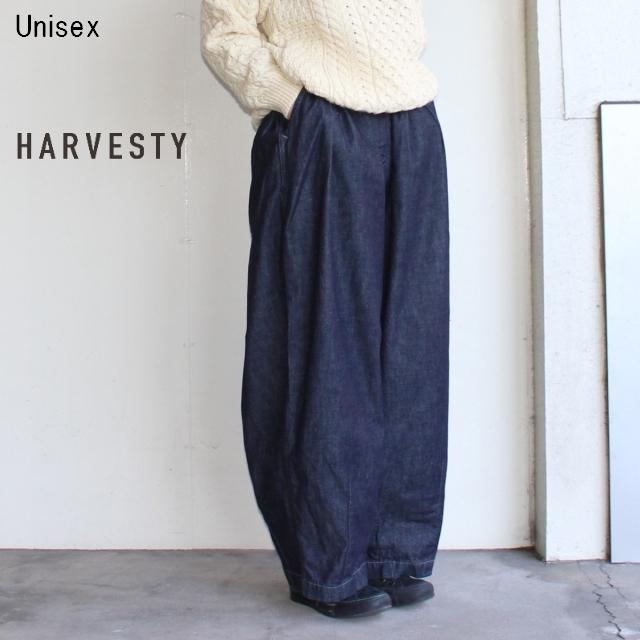 HARVESTY デニムサーカスパンツ CIRCUS PANTS A11801 (O.WASH)